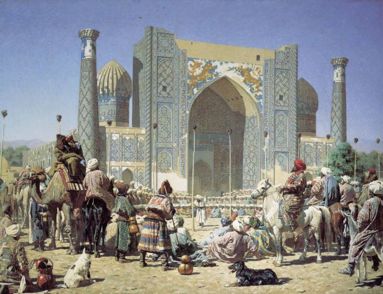 Triumph 1872 | Vasily Vereshchagin | oil painting