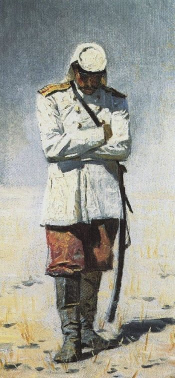 Turkestan the officer when the campaign will not be 1873 | Vasily Vereshchagin | oil painting
