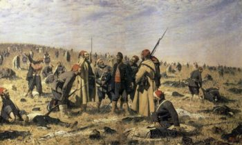 Winners 1878 1879 | Vasily Vereshchagin | oil painting