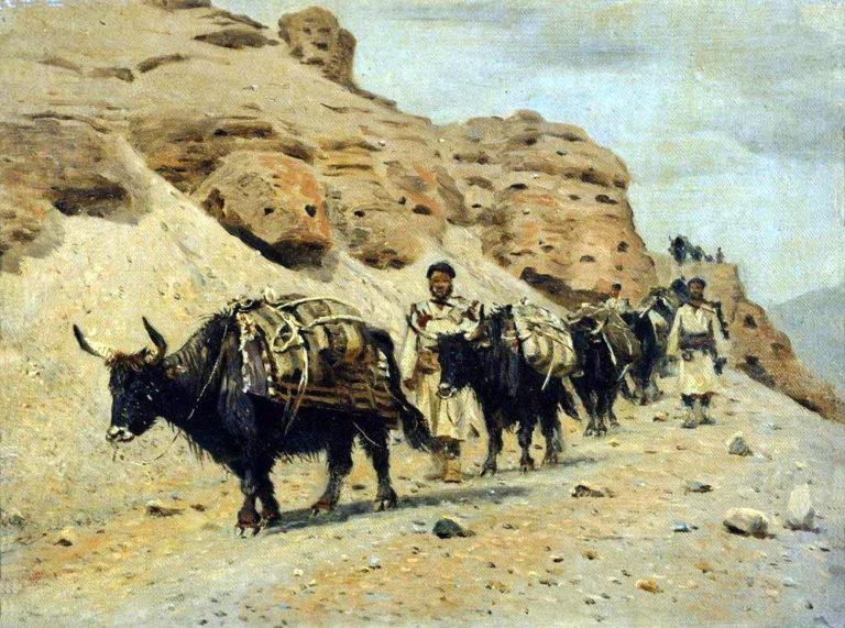 Yaqui 1875 | Vasily Vereshchagin | oil painting