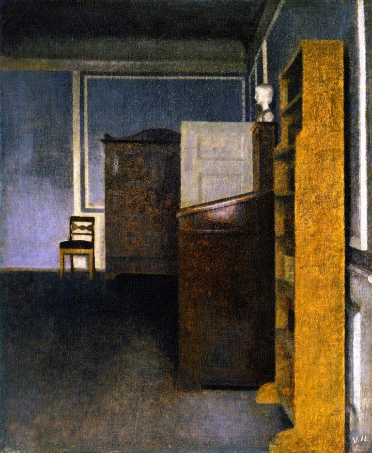 Interior Strandgade 30 | Vilhelm Hammershoi | oil painting