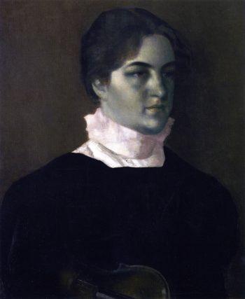 Karen Bramsen | Vilhelm Hammershoi | oil painting