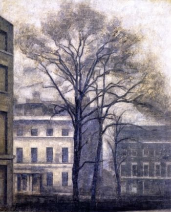 The Jews College Rabbinical Seminary in Guilford Street London | Vilhelm Hammershoi | oil painting
