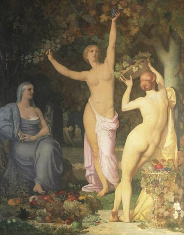 Autumn | Pierre Puvis de Chavannes | oil painting