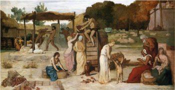 Cider | Pierre Puvis de Chavannes | oil painting
