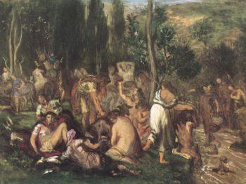 Concordia | Pierre Puvis de Chavannes | oil painting
