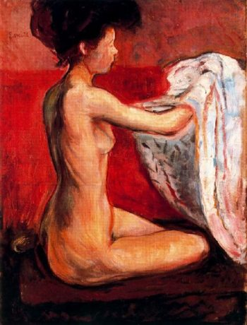 Paris Nude | Edvard Munch | oil painting