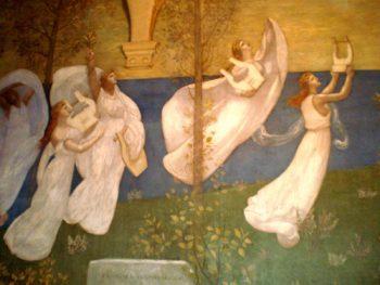 Invoking the Muses | Pierre Puvis de Chavannes | oil painting