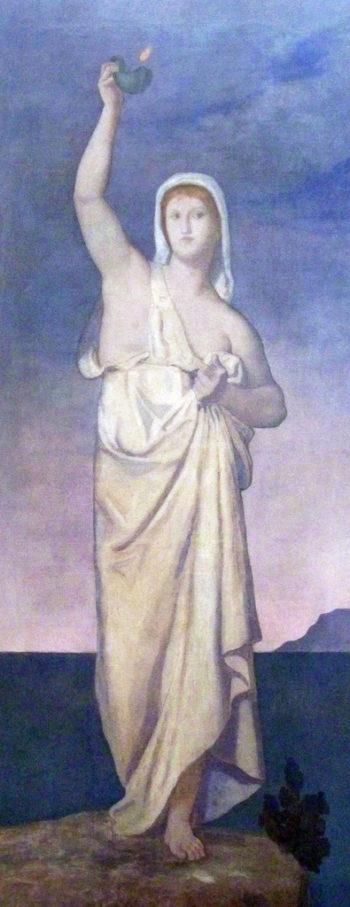 La Vigilance | Pierre Puvis de Chavannes | oil painting