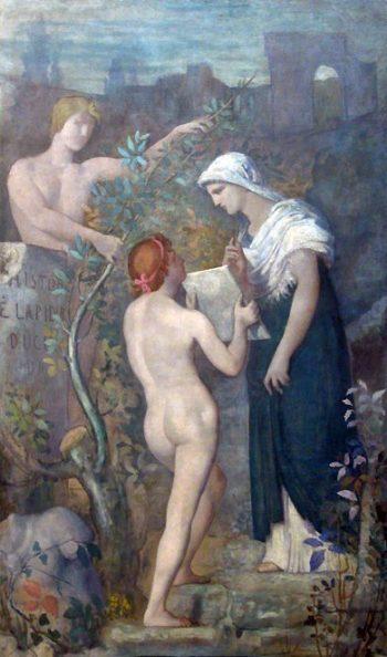 L'Histoire | Pierre Puvis de Chavannes | oil painting