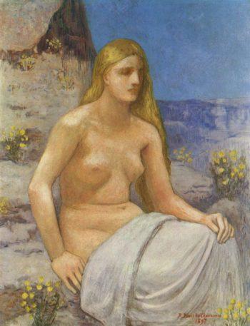 Marie Madeleine | Pierre Puvis de Chavannes | oil painting