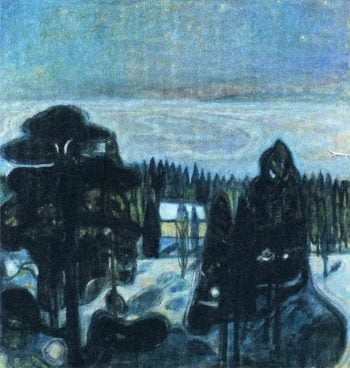 White Night | Edvard Munch | oil painting
