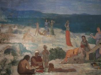 Massilia Greek Colony | Pierre Puvis de Chavannes | oil painting