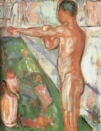 Bather | Edvard Munch | oil painting