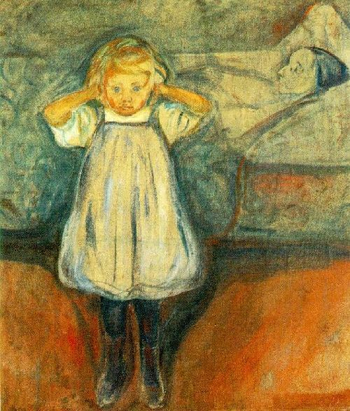 The Dead Mother | Edvard Munch | oil painting