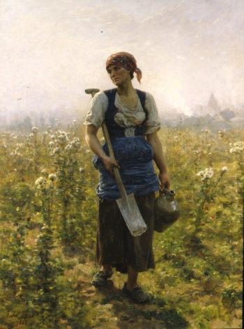 Le Matin | Jules Adolphe Breton | oil painting