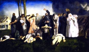 Massacre at Dinant   George Wesley Bellows   oil painting