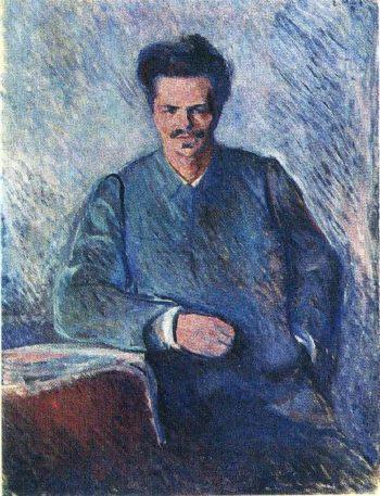 August Stindberg | Edvard Munch | oil painting
