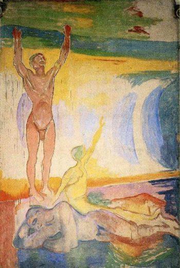 Awakening Men | Edvard Munch | oil painting