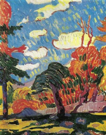 Landscape | Giovanni Giacometti | oil painting