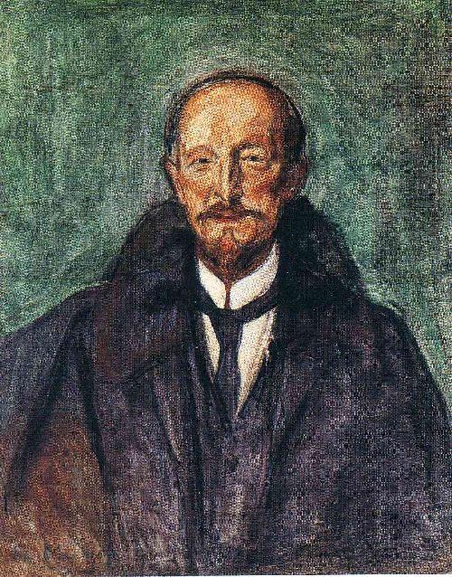 Albert Kollmann | Edvard Munch | oil painting