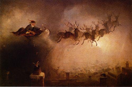 Santa Claus | William Holbrook Beard | oil painting