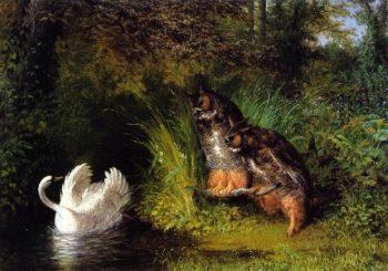 Susannah and the Elders | William Holbrook Beard | oil painting
