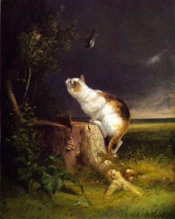 The Birdwatcher | William Holbrook Beard | oil painting