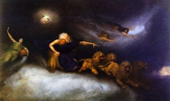 The Spirit of the Storm | William Holbrook Beard | oil painting