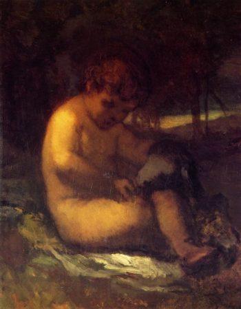 Cupid | William Morris Hunt | oil painting