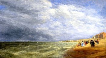 Rhyl Sands | David Cox | oil painting