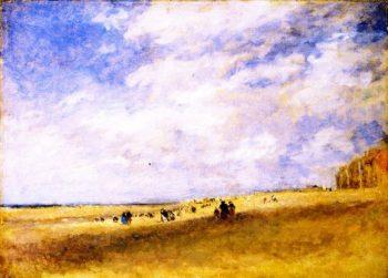 Rhyl Sands | David Cox | oil painting