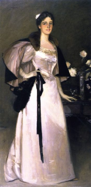 Miss Mary Burrell | Sir John Lavery | oil painting