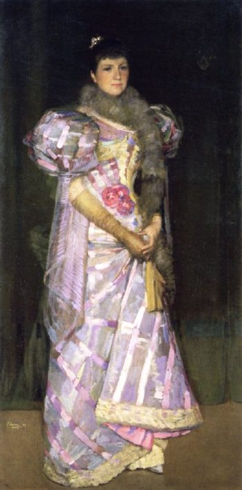 Mrs Fitzroy Bell | Sir John Lavery | oil painting