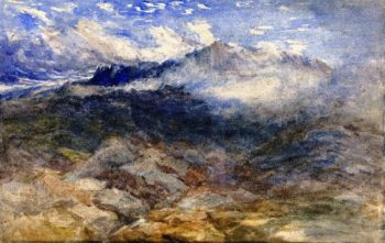 Mountain Heights Cader Idris | David Cox | oil painting