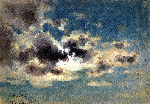Clouds   David Cox   oil painting