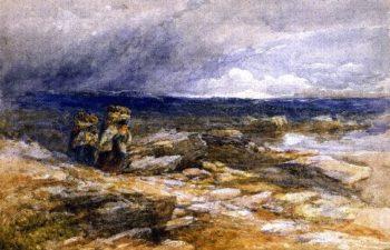 Peat Gatherers | David Cox | oil painting