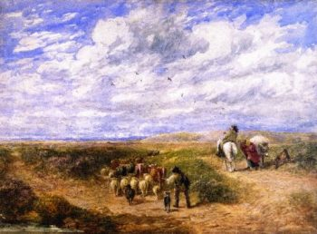 Keep the Left Road | David Cox | oil painting