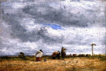 The Cross Roads | David Cox | oil painting