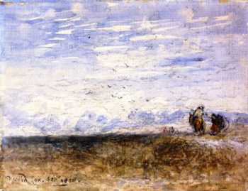 Crossing the Moor | David Cox | oil painting