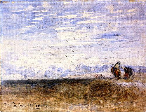 Crossing the Moor | David Cox | oil painting