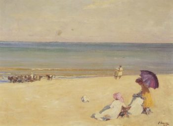 A Summer's Day | Sir John Lavery | oil painting