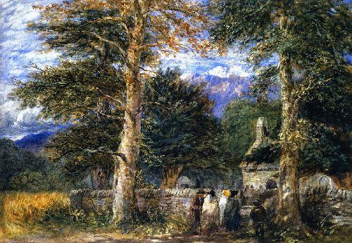 Bettws y Coed Church | David Cox | oil painting