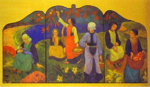 Apple Harvest   Paul Serusier   oil painting