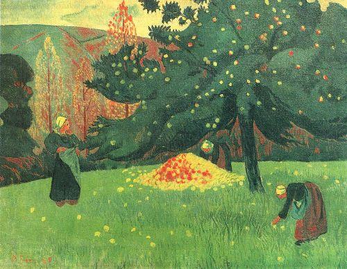 Apple Picking | Paul Serusier | oil painting