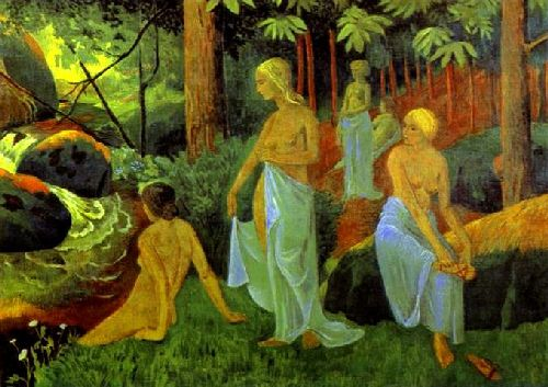 Bathers with White Veils | Paul Serusier | oil painting