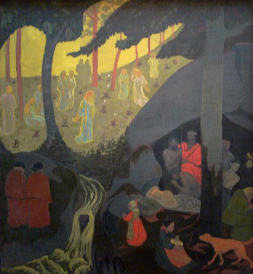 Celtic Tale | Paul Serusier | oil painting