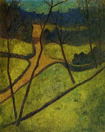 Chateau neuf | Paul Serusier | oil painting
