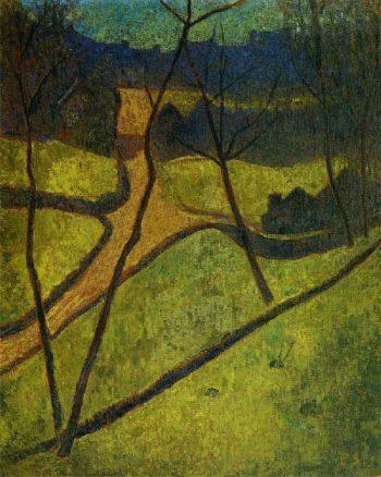 Chateau neuf | Paul Serusier | oil painting