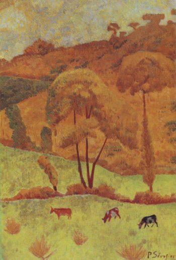 Harmony in Yellow | Paul Serusier | oil painting